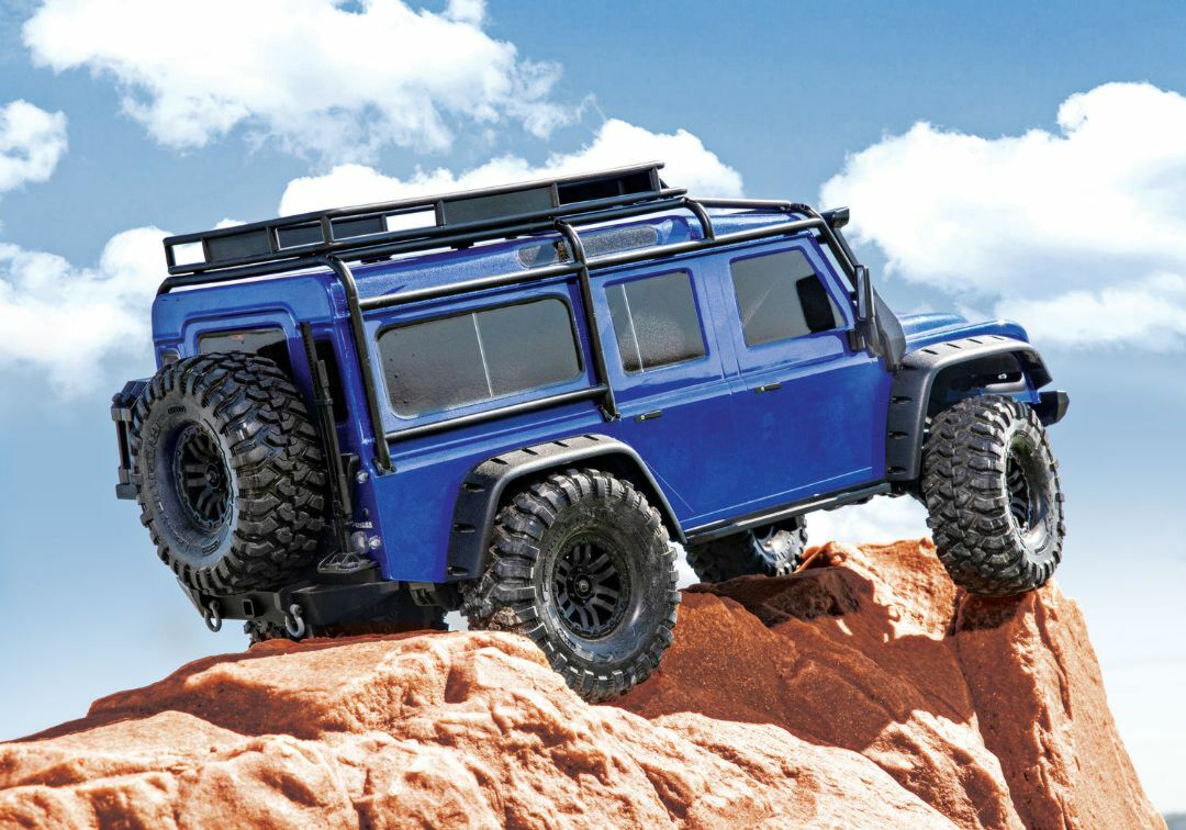 Traxxas Trx4 Land Rover Defender Blue
