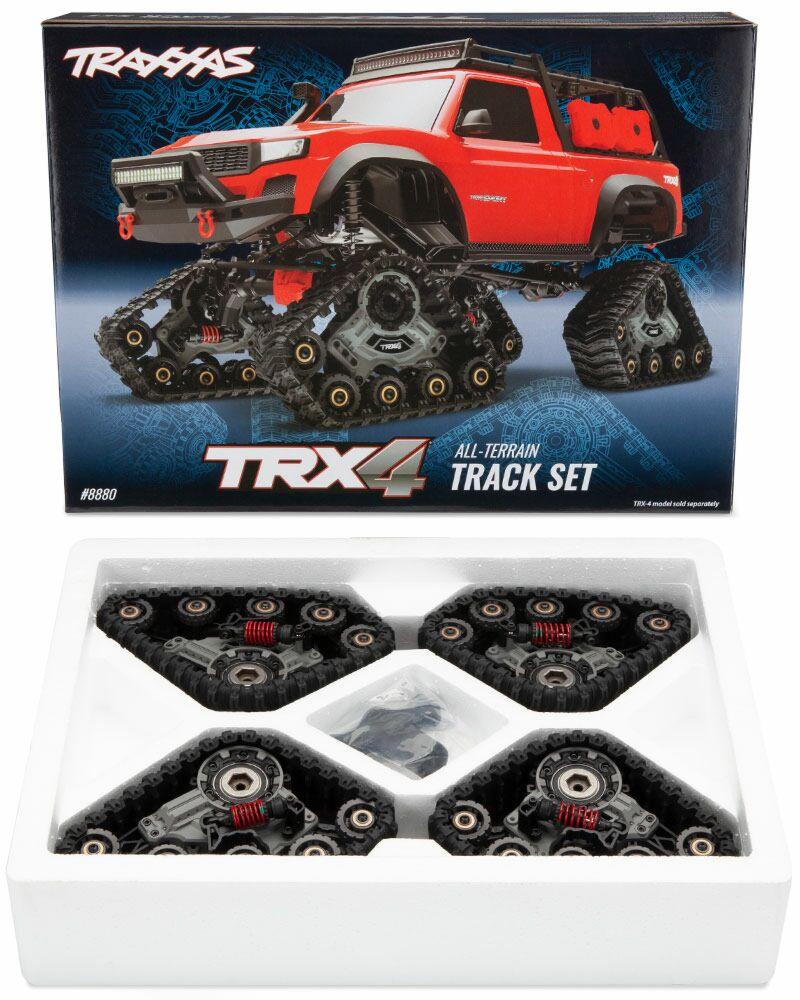 Deep Terrain Treads Complete Set Traxxas 8877 Front /& Rear TRX-4 Traxx