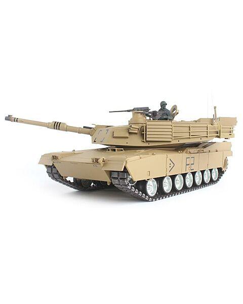 Heng Long 1/16 U.S.A M1A2 Abrams RC Main Battle Tank Full Pro Trim 7.0 Edition