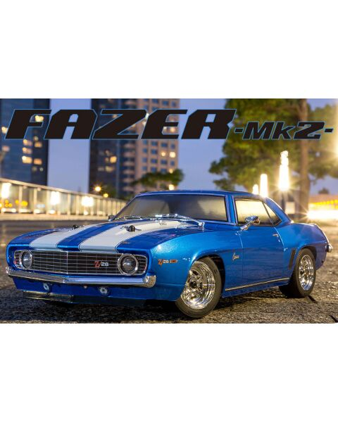 Kyosho 1/10 1969 Chevy Camaro Z28 RTR Le Mans Blue