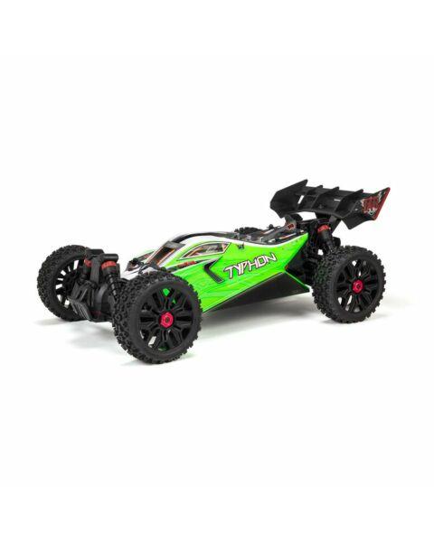 Arrma 1/8 TYPHON 4X4 V3 MEGA 550 Brushed Buggy RTR Green