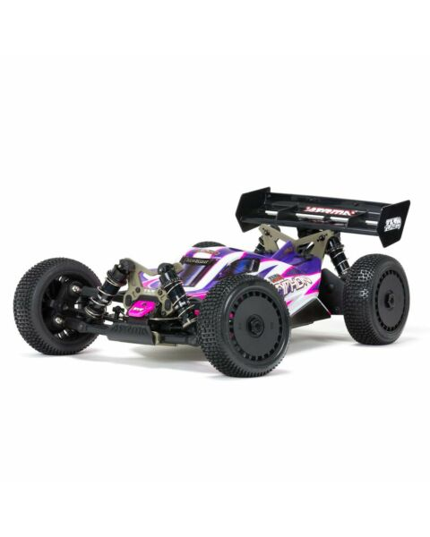 ARRMA 1/8 TLR Tuned TYPHON 4WD Roller Buggy Pink/Purple