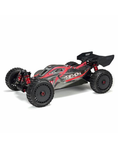 ARRMA 1/8 TYPHON 6S V5 4WD BLX Buggy w/ Spektrum Firma RTR Black