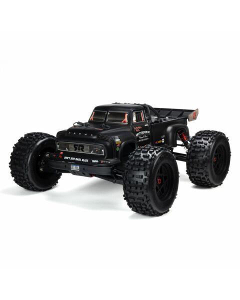 Arrma 1/8 NOTORIOUS 6S V5 4WD BLX Stunt Truck with Spektrum Firma RTR Black