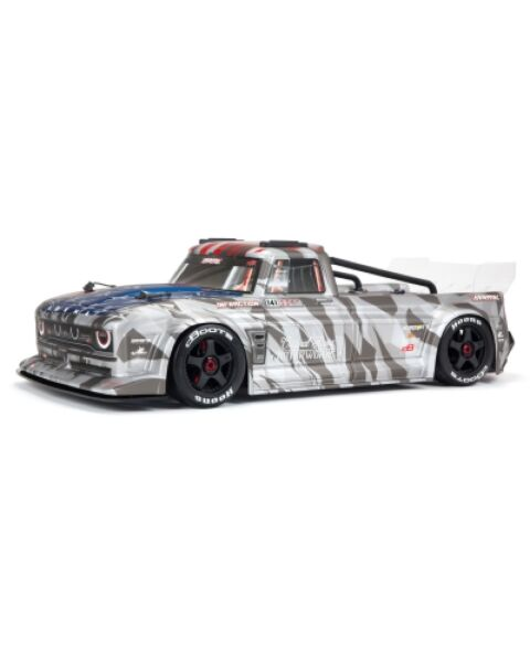 ARRMA 1/7 INFRACTION 6S BLX All-Road Truck Silver