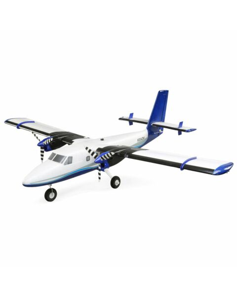 E-flite Twin Otter 1.2m BNF Basic with AS3X & SAFE includes Floats