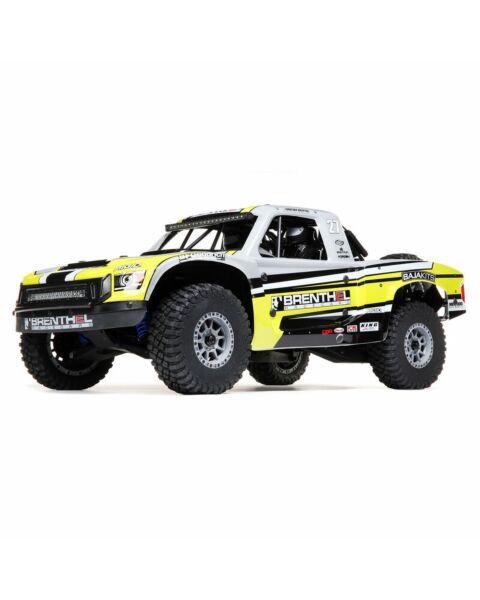 Losi 1/6 Super Baja Rey 2.0 4WD Brushless Desert Truck RTR Yellow Brenthel