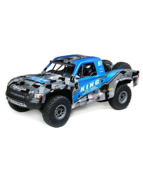 Losi 1/6 Super Baja Rey 2.0 4WD Brushless Desert Truck RTR Blue King Shocks