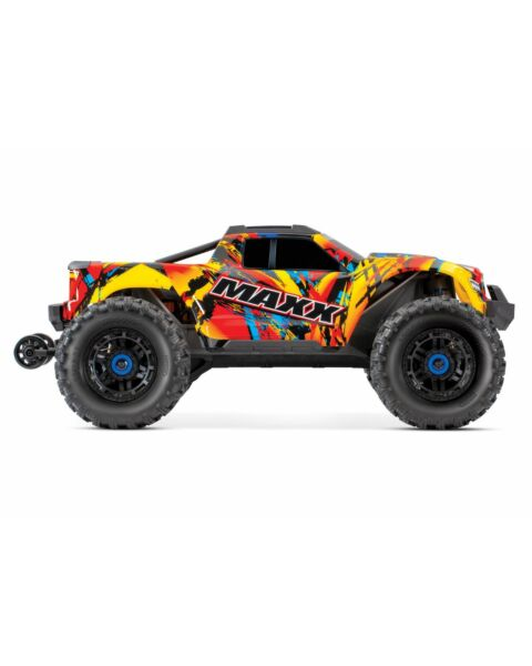 Traxxas Maxx 4s Monster Truck Solar Flare