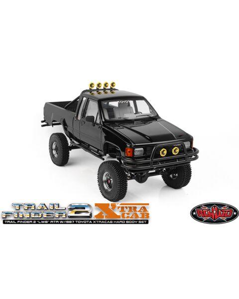 """Rc4wd Trail Finder 2 """"LWB"""" RTR w/ 1987 Toyota XtraCab Hard Body Set"""